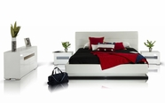 VIG-Furniture VGKCINFINITY Bed-with-Lights-Dresser-Mirror Bedroom Set