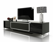 VIG Furniture VGKCKBRIGHTONBLK Brighton - Black Entertainment Center