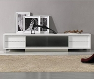 VIG Furniture VGKCKBRIGHTONWHT Brighton - White Entertainment Center