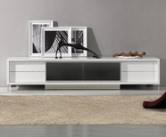 VIG Furniture VGKCKBRIGHTONWHT-M Brighton Mini - White Entertainment Center