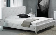 VIG Furniture VGKCMONTEPNK-F Monte Carlo Pink Leatherette Modern Full Bed