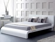 VIG Furniture VGKCROMA-WHT Roma - Modern Platform Bed