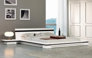 VIG Furniture VGKCSONATA-WHT Sonata - Platform Bed in White