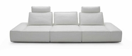 VIG Furniture VGKK1323-O-WHT Orchid - Modern White Italian Leather Sofa