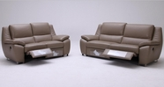Vig Vgkk1339 K-1339 Modern Leather Sofa Set With Recliners