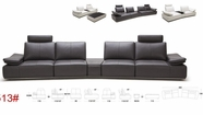 VIG Furniture VGKK1513-HL Hibiscus - Large Modern Single Sofa with Reclining Backrests