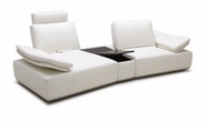 VIG Furniture VGKK1513-HL-SM Modern Single Sofa with Reclining Back rests