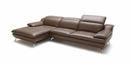 VIG Furniture VGKK1558-HL Modern Caramel Leather Sofa
