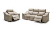 VIG Furniture VGKK1735-SET Saffron - Modern Beige Leather Sofa Set