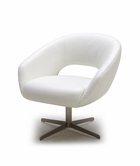 VIG Furniture VGKKA796 Divani Casa A796 - Modern Leather Swivel Lounge Chair