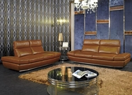 VIG Furniture VGKNK8374 Modern Leather Sofa Set with - K8374
