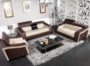 VIG Furniture VGKNK8444 K8444 - Modern Multi-Toned Eco-Leather Sofa Set