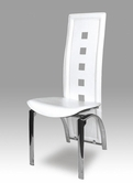 VIG Furniture VGLEY036-WHT Y036 White Leather Chairs