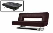 VIG Furniture VGMB0926-ESP 0926 - Fold-Out Espresso Leatherette Sofa Bed