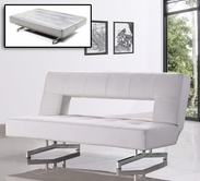 VIG Furniture VGMB0926-WHT Divani Casa 0926 - Modern Fold-Out Eco-Leather Sofa Bed