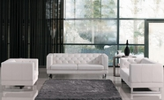 Vig Vgmb1169 Divani Casa Windsor-Modern Tufted Eco-Leather Sofa Set