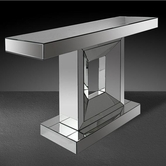 VIG Furniture VGMC-GC-1025 Milton - Modern Mirrored Console Table