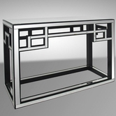 VIG Furniture VGMC-GD-1048 Linley - Transitional Mirrored Console Table