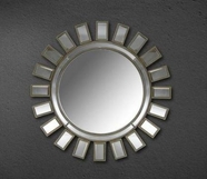 VIG Furniture VGMC-GD-8049 Crescent - Transitional Sun Design Mirror