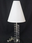 VIG Furniture VGMC-MA-4053 MA-4053 - Transitional Transparent Table Lamp