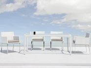 VIG Furniture VGMN-AEGEAN-DINING-SET-B Agean - 5 Piece Patio Dining Set