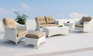 VIG Furniture VGMNCORAL Coral Patio Sofa Set