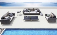 VIG Furniture VGMNROCK Rock - Sofa, Loveseat, chair, End Table, and 2 Coffee Table Patio Set
