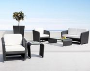 VIG Furniture VGMNSARDINIA Sardinia- Patio Sofa Set