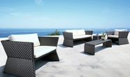 VIG Furniture VGMNTAHITI Tahiti-Black Modern Patio Sofa Set
