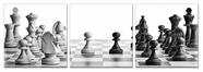 "VIG Furniture VGSC-SB-6949ABC Chess - 24"" x 24"" Photo on Canvas"
