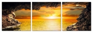 "VIG Furniture VGSC-SH-71096ABC Sunset Core - 24"" x 24"" Photo on Canvas"