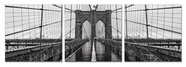 "VIG Furniture VGSC-SH-71438ABC Brooklyn Bridge - 24"" x 24"" Photo on Canvas"