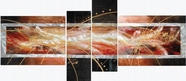 VIG Furniture VGSHD-ADC7777 ADC7777 - Modern 4 Piece Oil painting