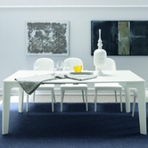 VIG Furniture VGSMARMONIA-EXT-TBL Armonia - Modern GlossyExtendable Dining Table