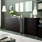 VIG Furniture VGSMARMONIA-SIDE-DARK Armonia - Modern Sideboard With Light