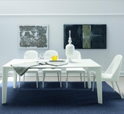 VIG Furniture VGSMARMONIA-White Armonia-Modern-Glossy Dining Set
