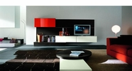 VIG Furniture VGSMASTEP21 Contemporary Entertainment Center SMA STEP 21