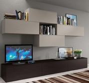 VIG Furniture VGSMASTEP33 Contemporary Entertainment Center SMA STEP33