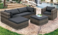 VIG Furniture VGSNKOKOMO Kokomo - Modern Outdoor Sofa Set