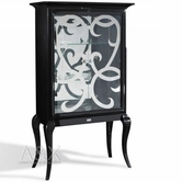 VIG Furniture VGUNAC510-100 AC510-100 - Transitional Black Dining Display Unit