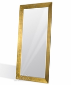 VIG Furniture VGUNGLAM-FLRMIR-GOLD AK421-210 - Modern Crocodile Gold Lacquer Mirror
