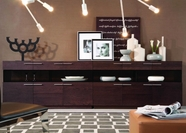VIG Furniture VGWCB522 Daytona - Modern Brown Oak Buffet