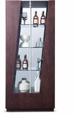 VIG Furniture VGWCB532 Prizma - Modern Wenge and Glass Dining Display Cabinet