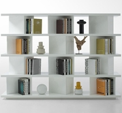 VIG Furniture VGWCGAA131 Modern White Lacquer Display Unit