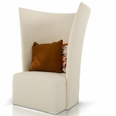 VIG Furniture VGWCGAL153 Divani Casa Bastia - Tall Fabric Modern Lounge Chair