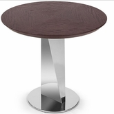 VIG Furniture VGWCM503T M503T - Modern Dark Brown Oak Side Table