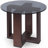VIG Furniture VGWCM505T M505T - Modern Oak Side Table