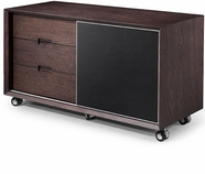 VIG Furniture VGWCS502 S502 - Modern Brown Oak Cabinet