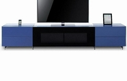 VIG Furniture VGWCSMARTBASE-SMALL Smartbase - Modern iPhone or iPad Dock Ready Glass Entertainment Center