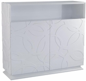 VIG Furniture VGWCTEM-8P018 Modern Glossy White Buffet - Othello